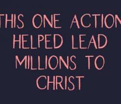 Lead Millions to Christ