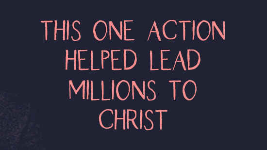 Lead Millions to Christ