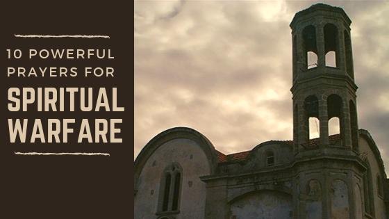 powerful prayers for spiritual warfare