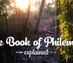 Book of Philemon explained