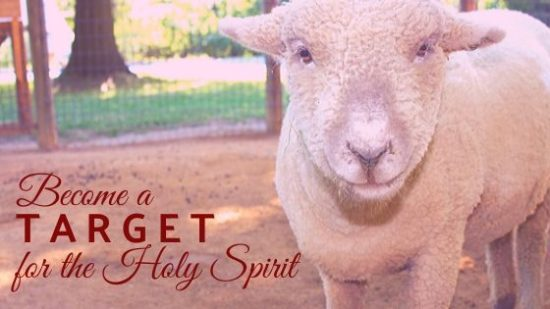 target for holy spirit