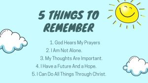 5 Things to Remember Daily