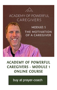 Academy of a Caregiver ecourse
