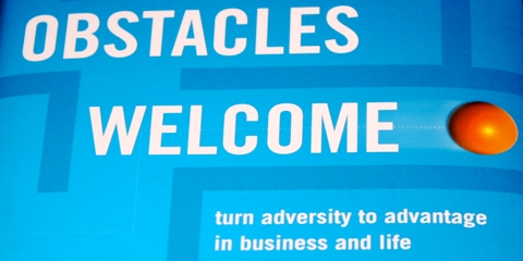 Obstacles Welcome by Ralph de la Vega