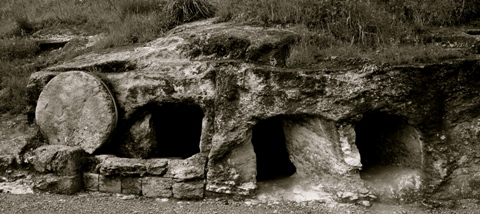 image of empty tomb
